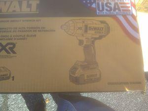 Brand New DeWalt 20v brushless impact wrench kit for Sale in Baltimore, MD