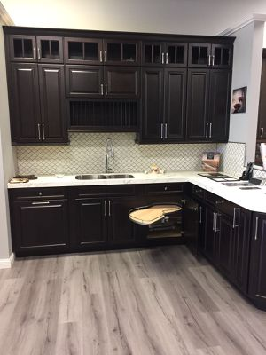 Expresso Kitchen Cabinets for Sale in Charlottesville, VA