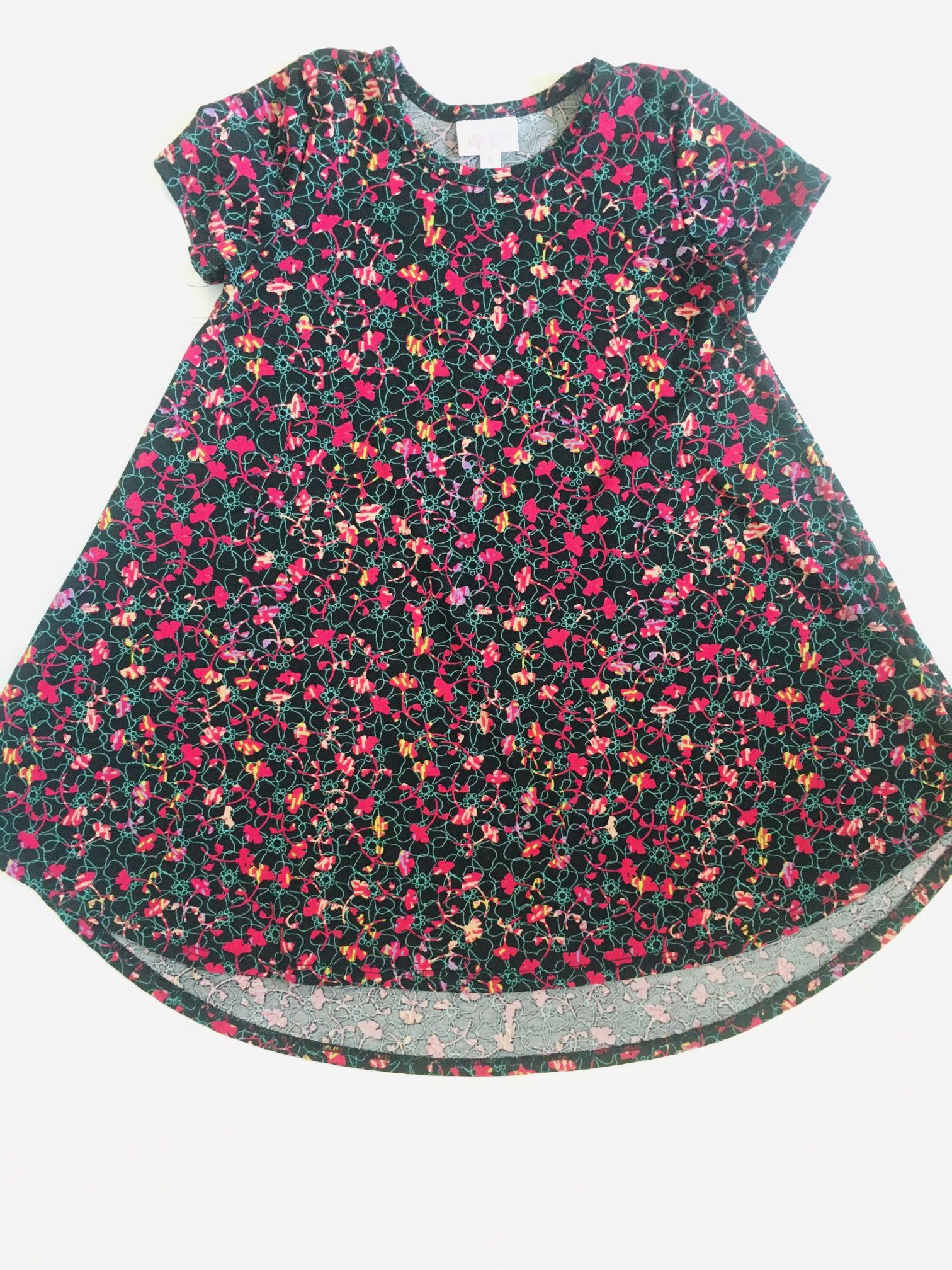 Lularoe Super Flare Dress- Girls sz 6
