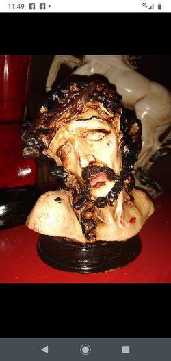 Christ face decoration Thumbnail
