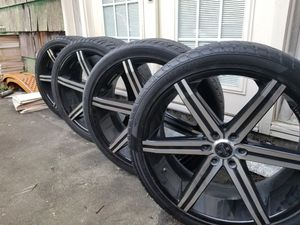 24 inch Versante Alloys with tires for Sale in Friendswood, TX