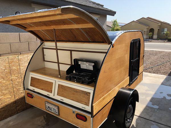 2015 Teak teardrop trailer for Sale in Laveen Village, AZ - OfferUp