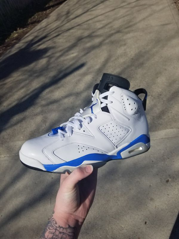 huge discount d5f77 eda1f 2014 jordan sport blue 6s for Sale in Columbus, OH - OfferUp