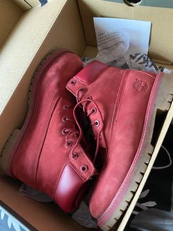 Red timberlands Thumbnail