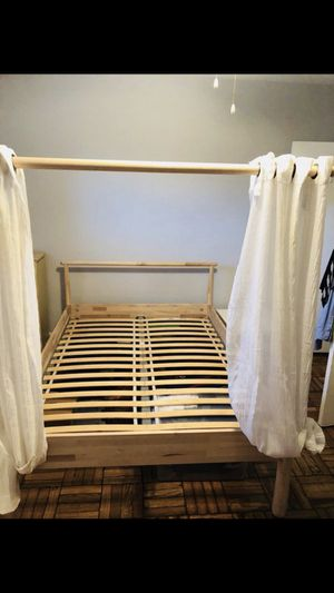 "Barely used ""Gjöra"" full size Bed frame for Sale in Washington, DC"