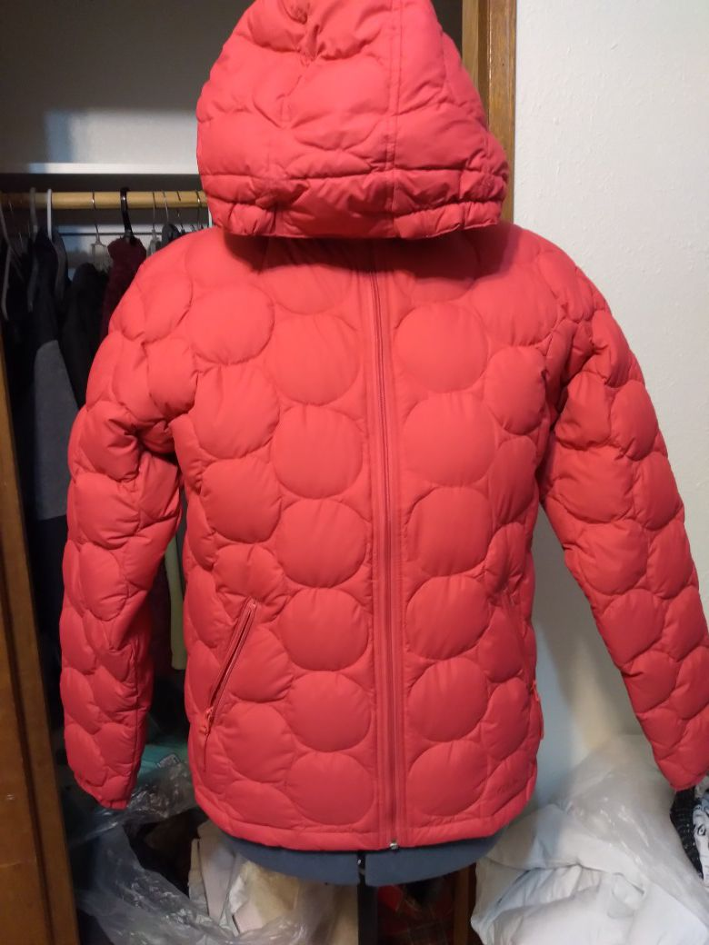 Never used, no tag,down coat