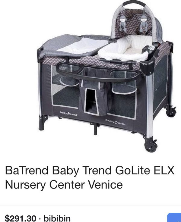 bc5d944ba9596 Baby trend golite ELX nursery center pack and play for Sale in Gig ...