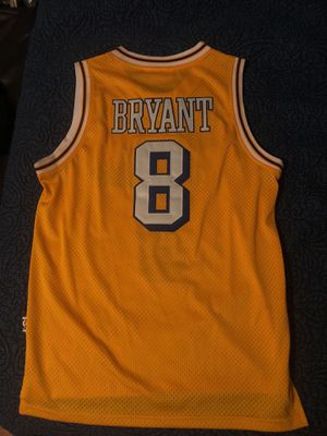 size 40 21da9 0746e Lakers Kobe Bryant Mitchell & ness hardwood classic jersey for Sale in Los  Angeles, CA - OfferUp