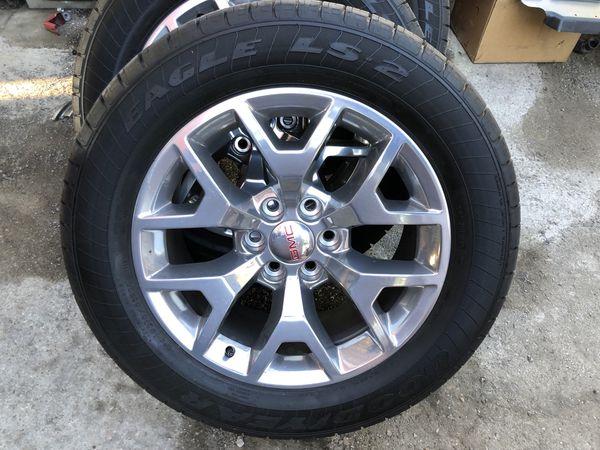 2018 Gmc Sierra Rims Tires For Sale In Dallas Tx Offerup