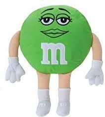 Green Female M&M Stuffed Collectable Toy for Sale in Phoenix, AZ
