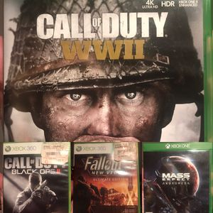 VIDEO GAMES for Xbox One • 360 • Call of Duty • Fallout • Borderlands • Fable for Sale in Arlington, VA
