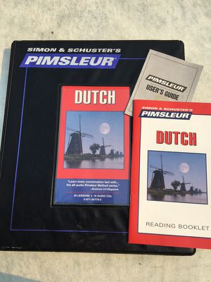 Pimsleur Dutch language software for Sale in Portland, OR
