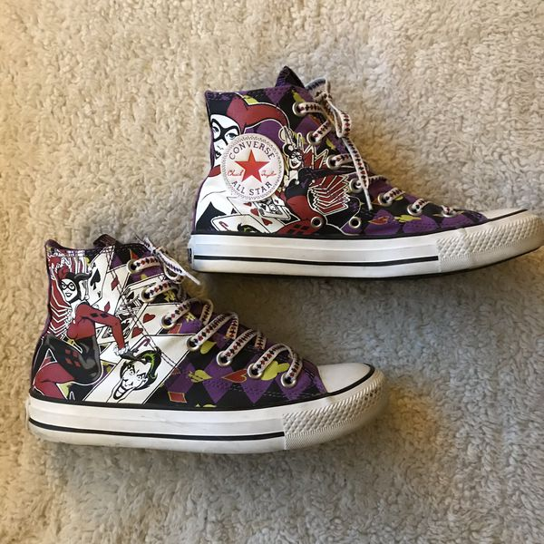 21a5e7c7aacb Harley Quinn Converse for Sale in Lancaster