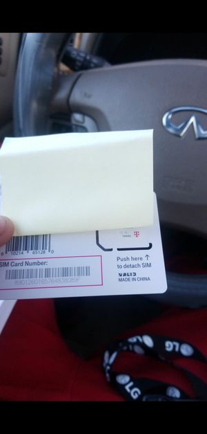 I have 3 TMobile SIM cards brand new for Sale in Cleveland, OH