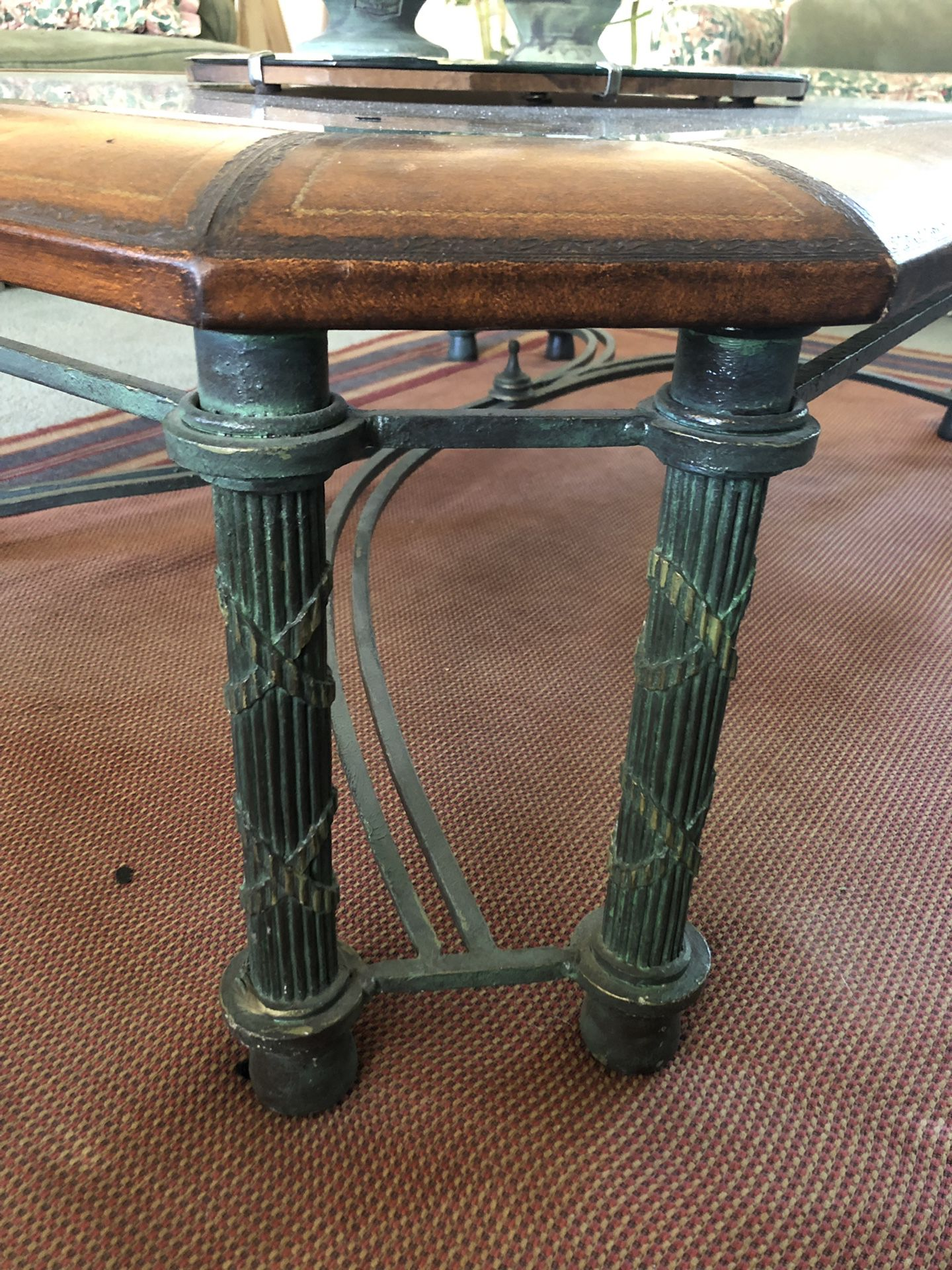 High end coffee table and end table