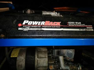 5250 watt generator for Sale in Creedmoor, NC