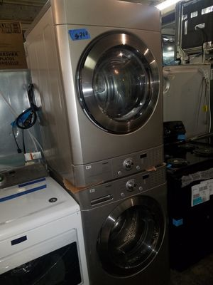 Lg front load washer and dryer excellent condition for Sale in Baltimore, MD
