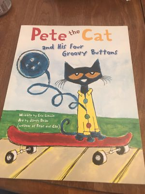 Pete the cat and his four groovy buttons for Sale in Austin, TX