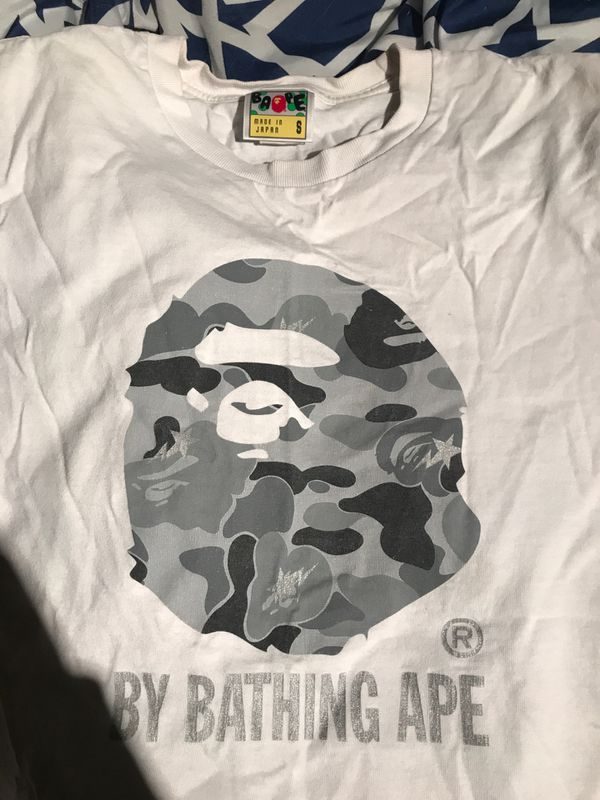91d3cdf1 New and Used Bape shirt for Sale in Fresno, CA - OfferUp