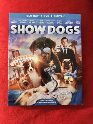 SHOW DOGS, BLUE-RAY + DVD + DIGITAL for Sale in Oxnard, CA