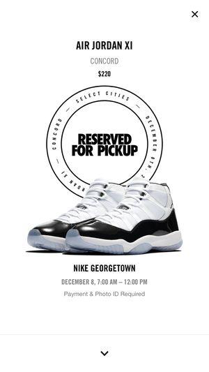 Jordan 11 Concord size 13 for Sale in Centreville, VA