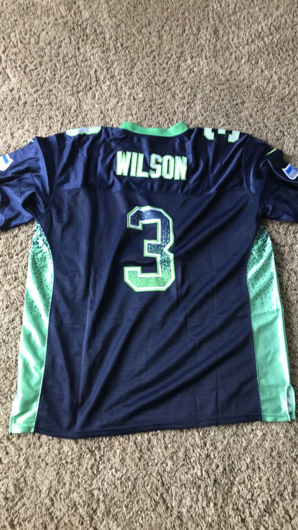 new concept a0f4f 72264 NFL Russell Wilson Jersey Xl Seattle Seahawks Special edition for Sale in  Zephyrhills, FL - OfferUp