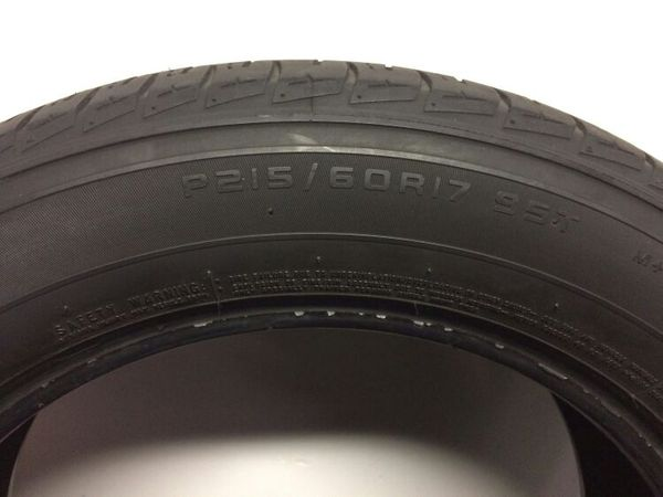 Used Tires San Jose >> Firestone Affinity Used Tire For Sale In San Jose Ca Offerup