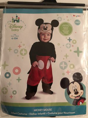 halloween costume baby disney mickey mouse for sale in dallas tx