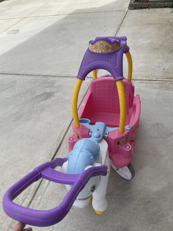 Princess Carriage Toddler Car Thumbnail