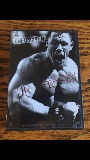Photo WWE Unforgiven dvd