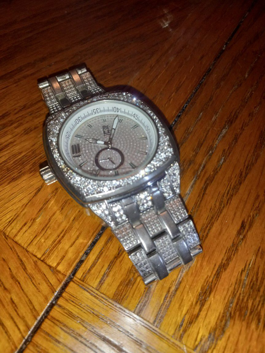 Men's Silver Watch