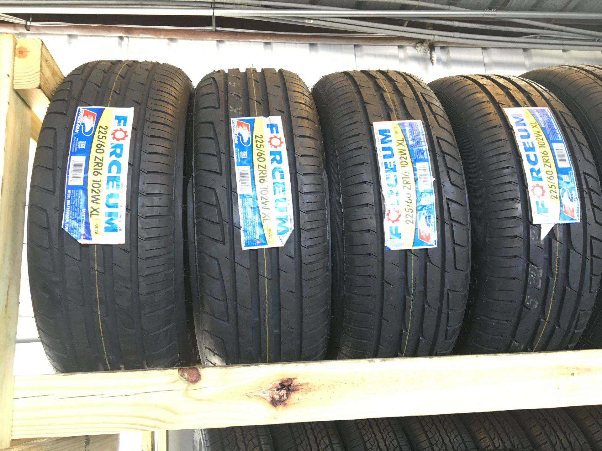 New Tires (4) 225/60/16
