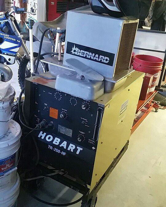 Hobart Tig Welder >> Hobart Tr 250 Hf Tig Welder For Sale In Fallbrook Ca Offerup