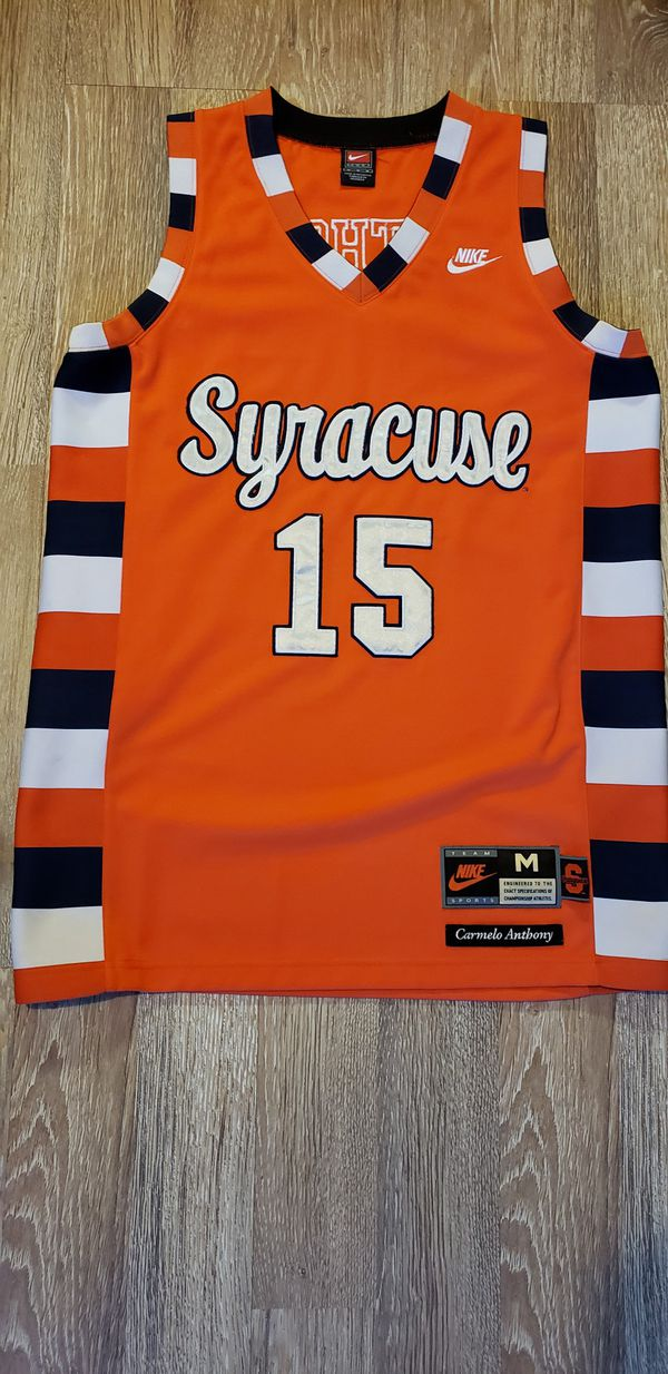 more photos a2501 24108 Syracuse Carmelo Anthony jersey for Sale in Las Vegas, NV - OfferUp