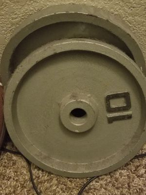 Curl bar 40 lbs of weight for Sale in Denver, CO