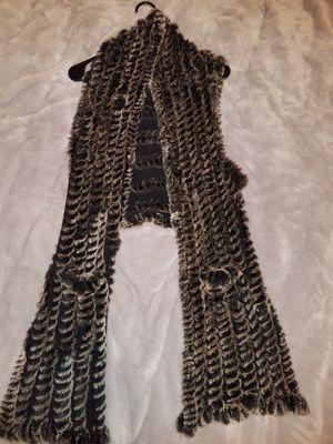 Used, Love token, rabbit fur vest, size small for sale  El Dorado, KS