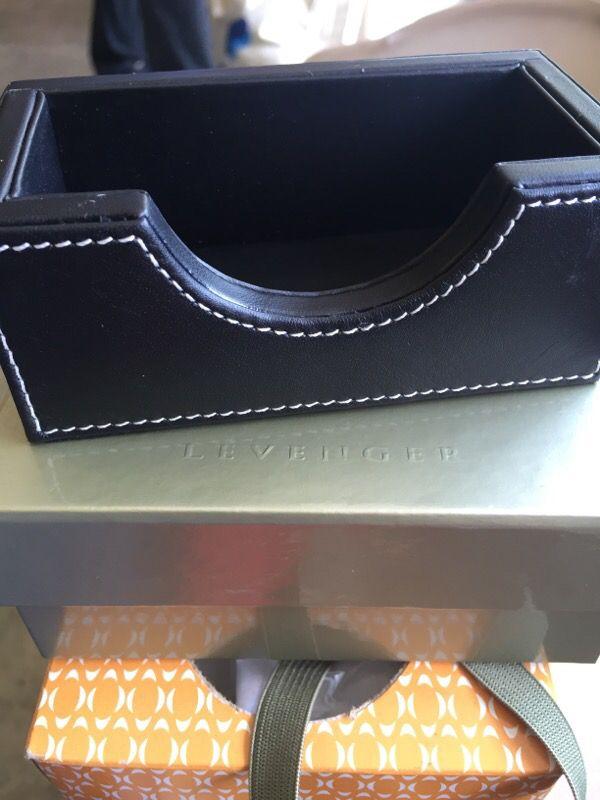 Levenger black leather business card holder for sale in gilroy ca levenger black leather business card holder for sale in gilroy ca offerup reheart Images