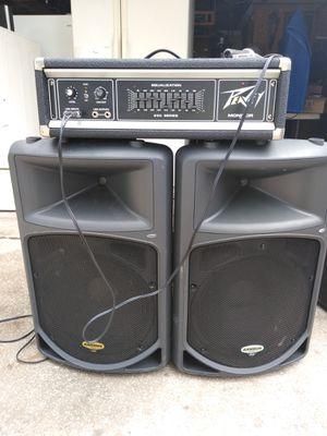 Sansón Speaker and Peavey amp for Sale in Ocoee, FL