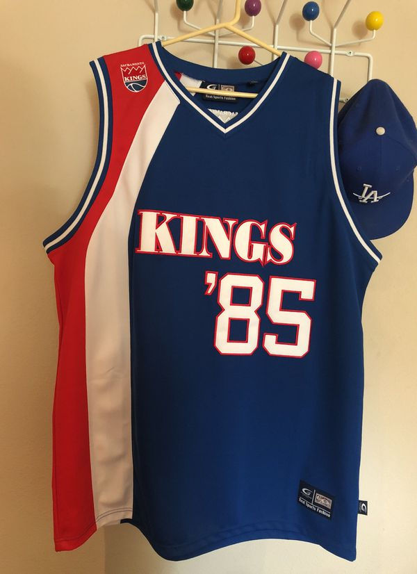 low priced 4eca6 24aba Sacramento Kings '85 Throwback Jersey XL/XG for Sale in Los Angeles, CA -  OfferUp