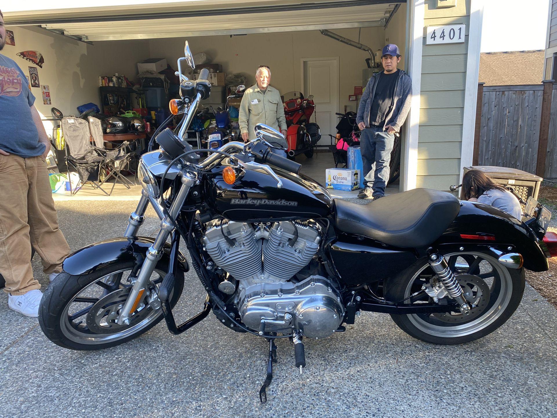 Photo 2015 Harley Davidson Sportster 883