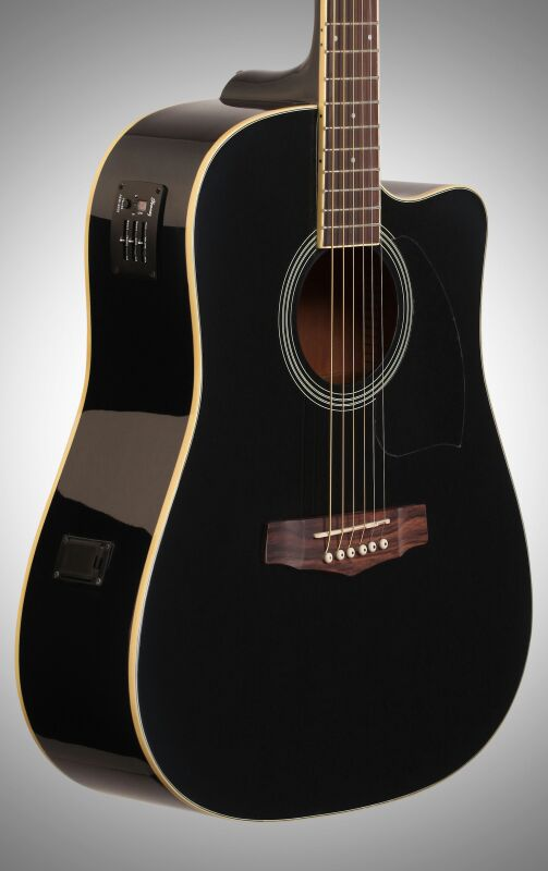 Ibanez V70ce Acoustic Electric Guitar Black For Sale In Palo Alto