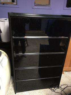 Matching Bedroom set - Headboard, Tall Dresser, Night Stand - Black Thumbnail