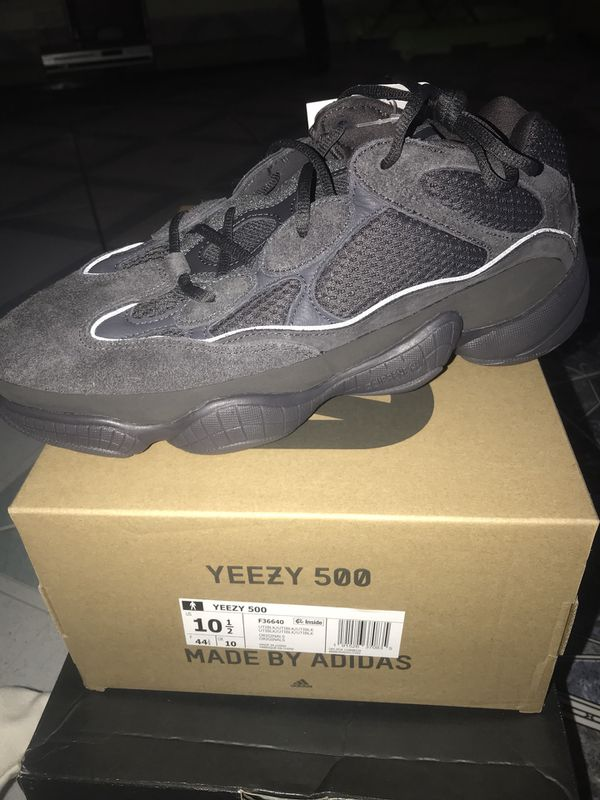 reputable site 2a88c d4c4d Yeezy 500 utility black 10.5 for Sale in Dallas, TX - OfferUp