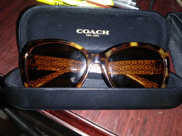 f26a5207f4e Coach frames. These glasses have a prescription lense in them now ...
