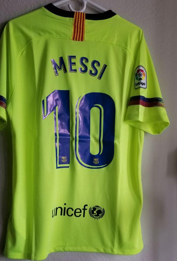 info for fa966 2b899 Nike Mens 18/19 Barcelona away JERSEY ORIGINAL messi for Sale in Phoenix,  AZ - OfferUp