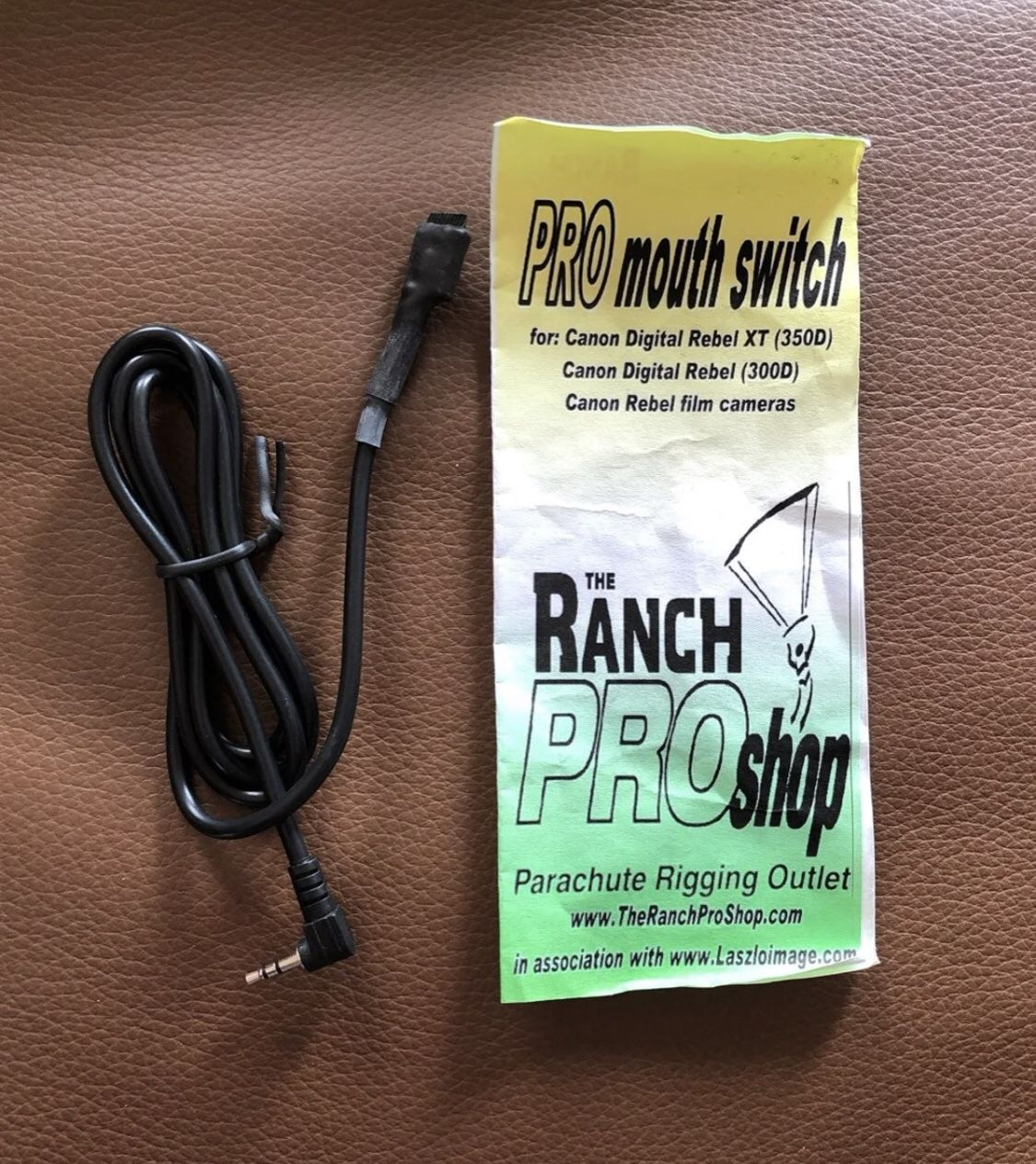 Pro Mouth Switch for camera