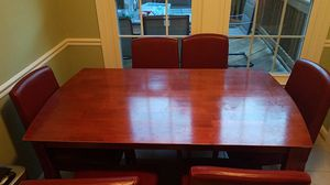 Table and 7 chairs for Sale in Fairfax, VA