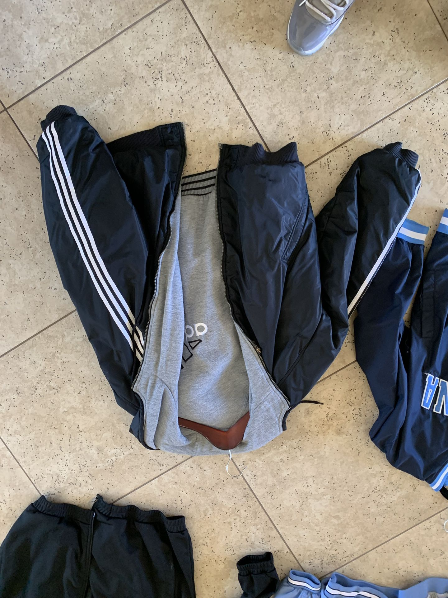 Double sided adidas jacket xxl