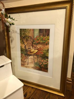 Glass Framed picture for Sale in Harrison City, PA