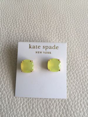 Yellow Kate Spade Earrings for Sale in Tampa, FL